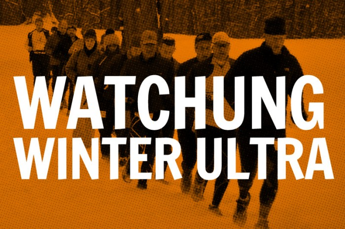 Watchung Winter Trail Run