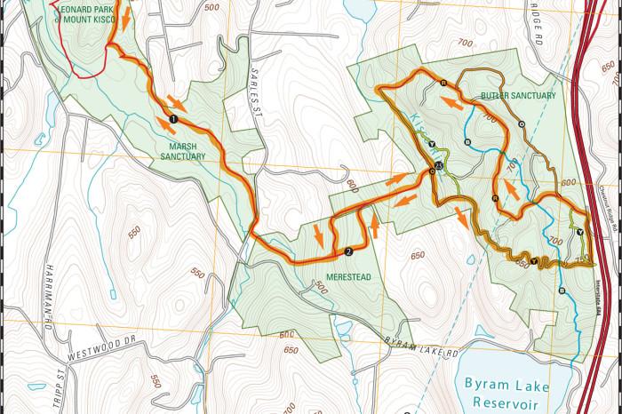 Leonard to Butler 8 mile loop