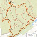 Ward Pound Ridge Reservation Trail Run Map