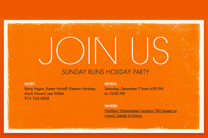 Holiday Party December 7
