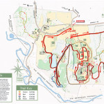 The Running Goddess trail race course map