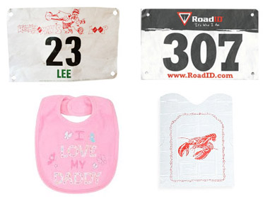 Don't forget to wear a bib!
